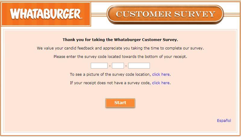 Whataburgervisit.com Homepage