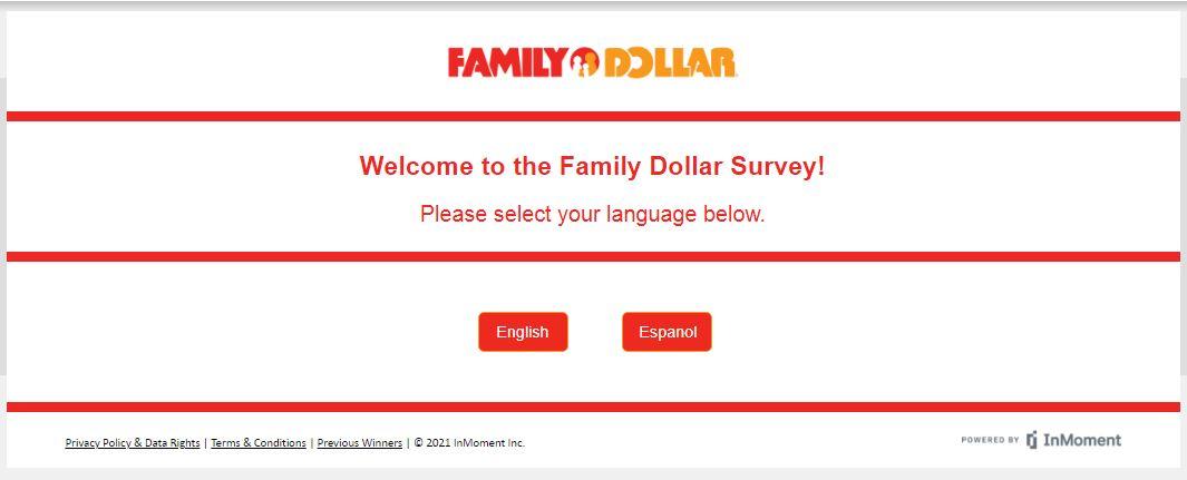 Family Dollar Survey