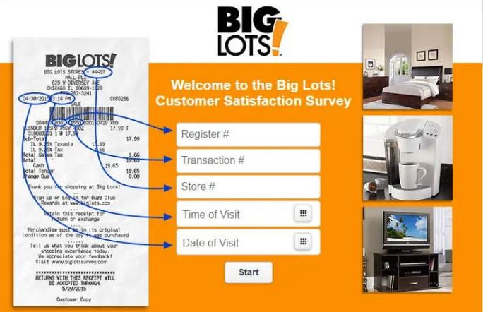 big lot survey