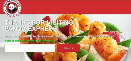 PandaExpress/FeedPandaExpress/Feedback surveyback survey